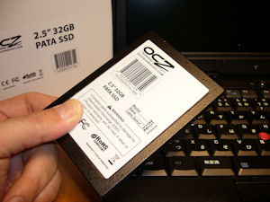 ThinkPad X31 SSD OCZSSDPATA1-32G