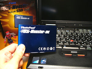 ThinkPad X31 SSD G-MONSTER IDE