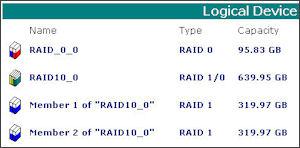 HighPoint Web RAID Management