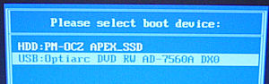 ASUS S101H SSD OCZ Apex