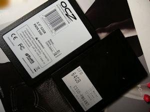 2.5inch IDE SSD CFD OCZ