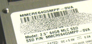 SAMSUNG SSD MMCRE64G5MPP-0VA