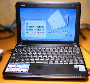 Wind Netbook U100 Vogue