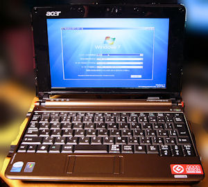 Acer Aspire One Windows7
